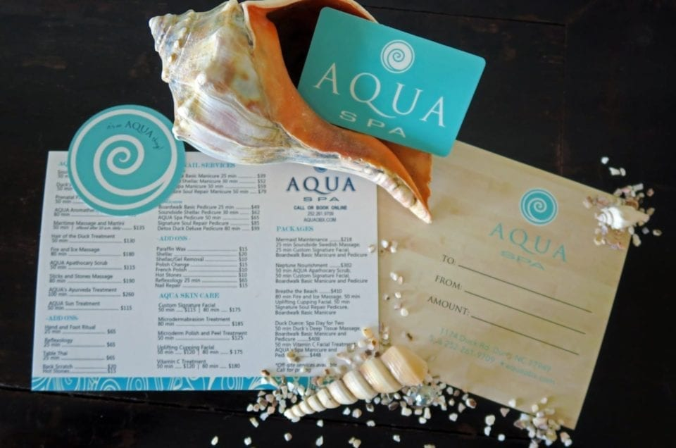 AQUA Spa Gift Card