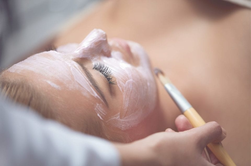 Organic Facial with Eminence for the Holidays available at AQUA Spa