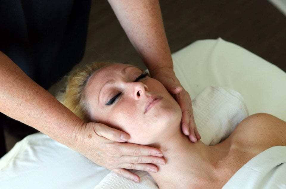 Organic Facials with Eminence Products available at AQUA Spa