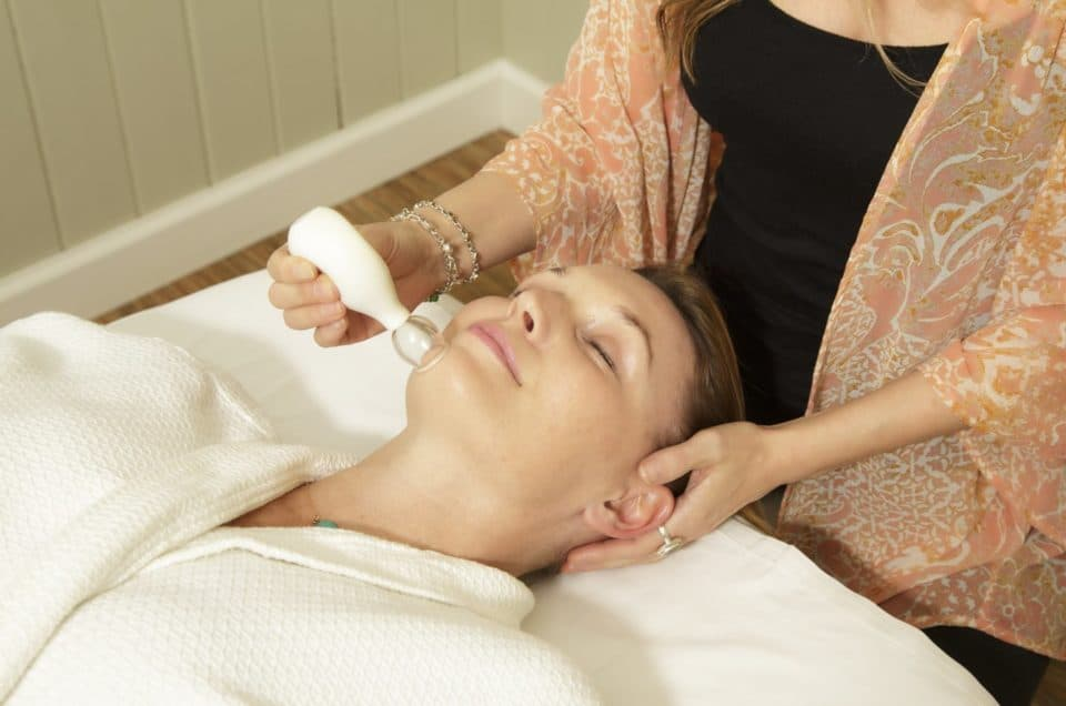 Uplifting Cupping Facial at AQUA Spa